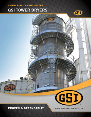 Commercial Grain Tower Dryers